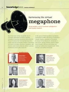 AMA Magazine: Harnessing the Virtual Megaphone