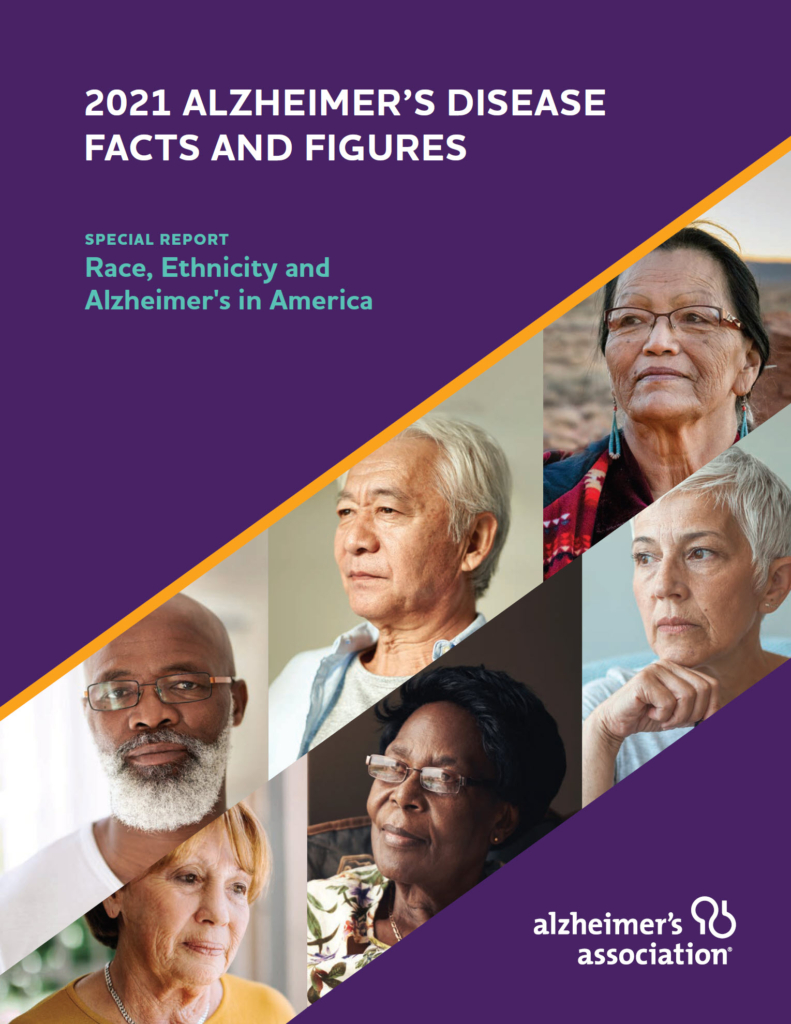Alzheimer's Assocation 2021 Facts and Figures Special Report Image
